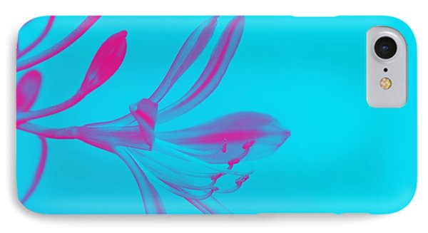 Abstract Pink Flower IPhone Case by Celestial Images