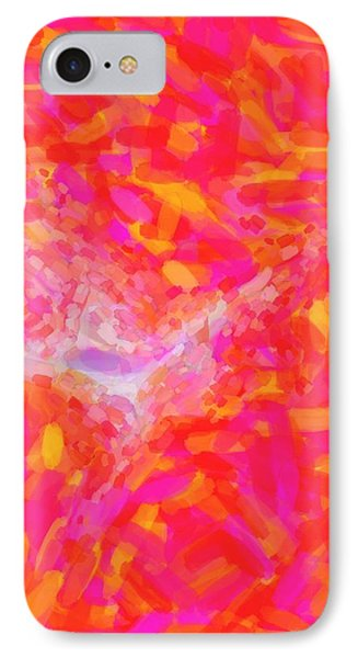 Abstract Pink Nebulla With Galactic Cosmic Cloud 31 Xl IPhone Case by Celestial Images