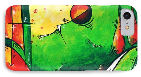 Abstract Pop Art Original Painting Phone Case by Megan Duncanson