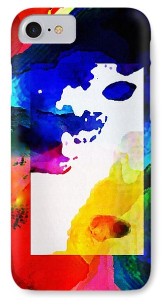 Rectangle Merge Abstract By Delynn Sold IPhone Case