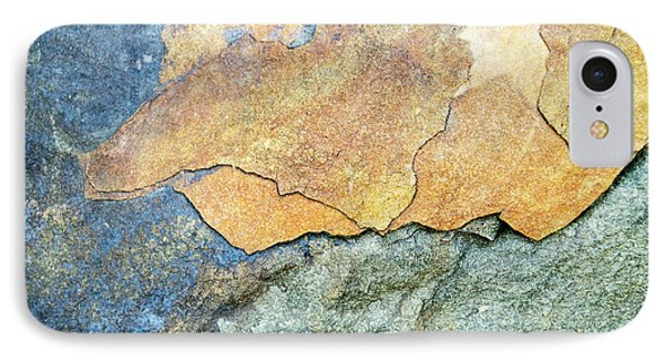 IPhone Case featuring the photograph Abstract Rock by Christina Rollo