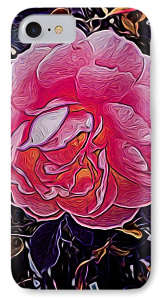 Abstract Rose 11 IPhone Case