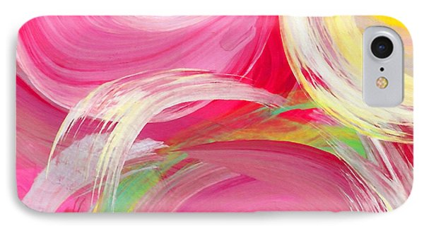 Abstract Rose Garden In The Morning Light Square 2 IPhone Case