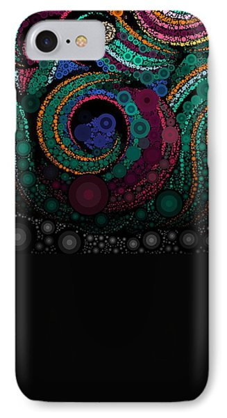 IPhone Case featuring the pastel Abstract by Sheila Mcdonald