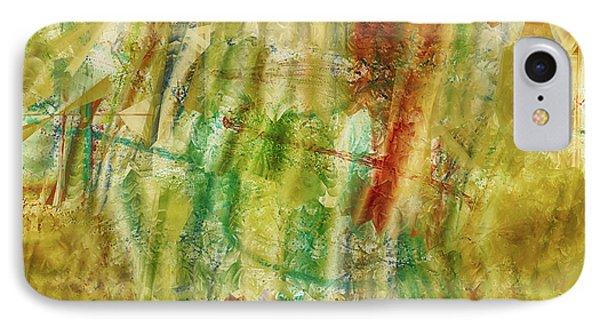 IPhone Case featuring the digital art Abstract Sunday by Deborah Benoit