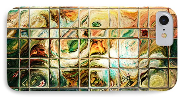 Abstract-through Glass Phone Case by Patricia Motley