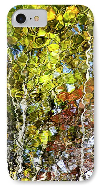 Abstract Tree Reflection Phone Case by Christina Rollo