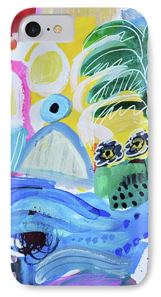 Abstract Tropical Landscape IPhone Case