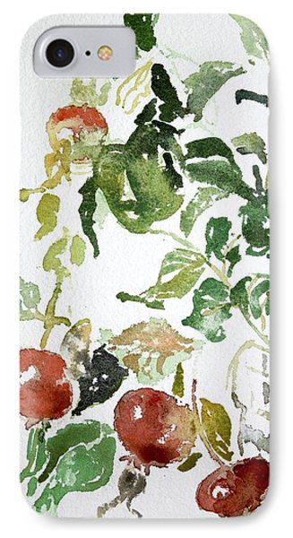 Abstract Vegetables IPhone Case