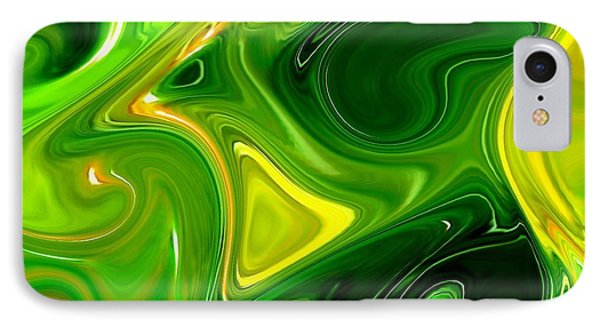 Abstract Veggies IPhone Case