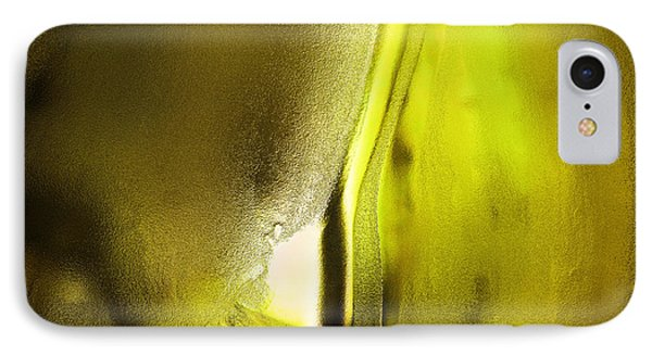 Abstract Yellow IPhone Case by Jeff Swan
