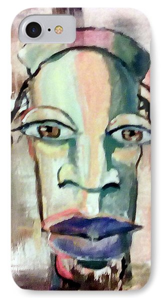 Abstract Young Man #2 IPhone Case by Raymond Doward