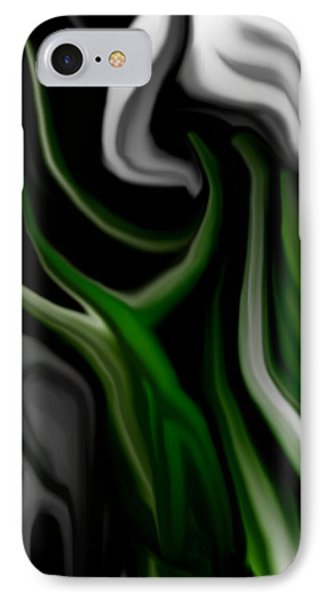 Abstract309h Phone Case by David Lane