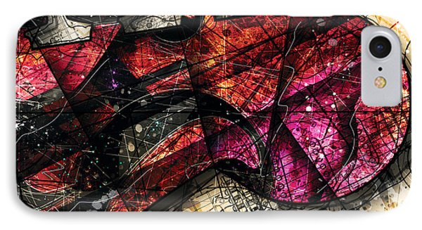 Abstracta_20 Fender Strat IPhone Case
