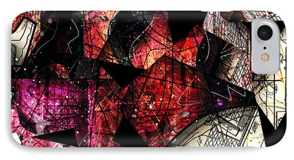 Abstracta_21 Stratavari Moderna IPhone Case