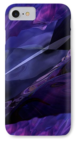 Abstractbr6-1 Phone Case by David Lane