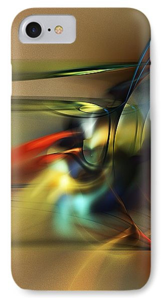 Abstraction 022023 IPhone Case by David Lane