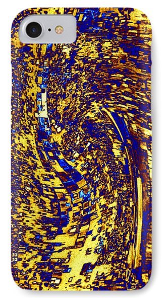 IPhone Case featuring the digital art Abstractmosphere 3 by Will Borden