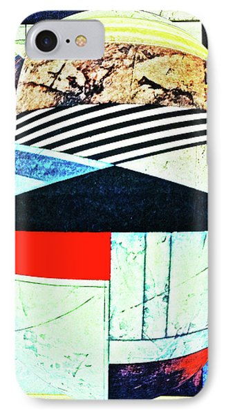 Abstracts On Red Phone Case by Bruce Iorio