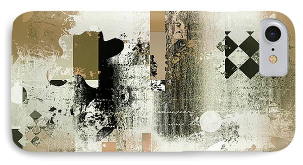 Abstracture - 21gold01 IPhone Case by Variance Collections