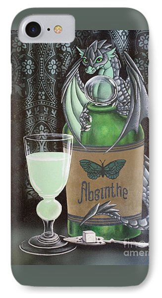 Absinthe Dragon IPhone Case