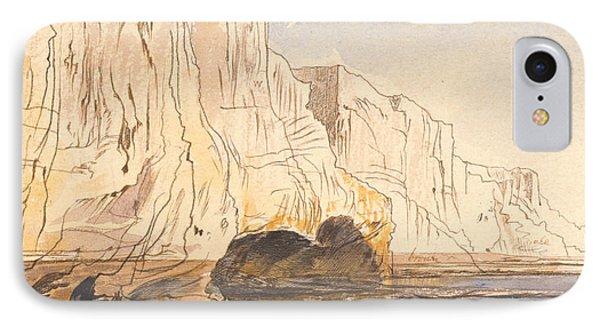 Abu Fodde, 4 Pm, 4 March 1867  IPhone Case by Edward Lear