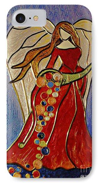 Abundance Angel IPhone Case by AmaS Art