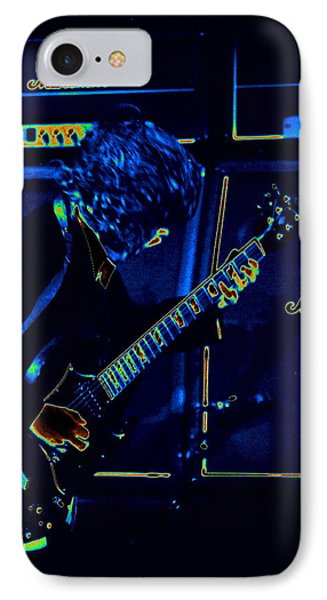 Ac Dc Electrifies The Blues IPhone Case by Ben Upham