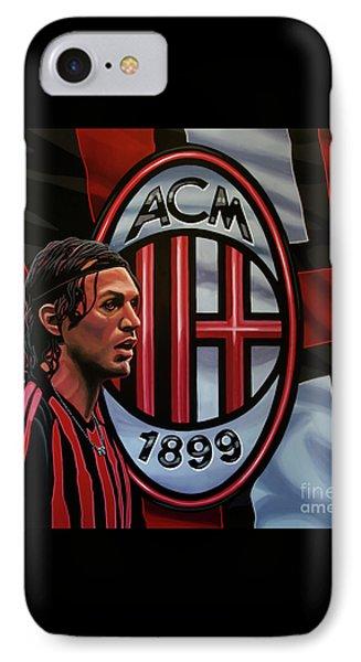 Ac Milan Painting IPhone Case