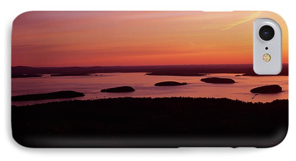 Acadia National Park Maine - Frenchman Bay Phone Case by Erin Paul Donovan