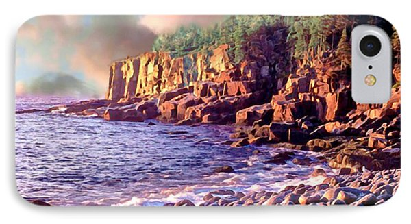 Acadia National Park IPhone Case by Bob and Nadine Johnston
