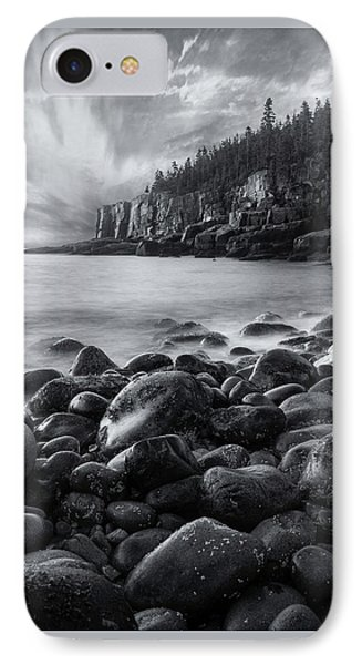 Acadia Radiance - Black And White IPhone Case by Thomas Schoeller