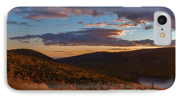 Acadia Sunset IPhone Case by Sharon Seaward