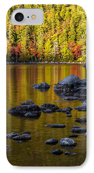 Mountain Sunset iPhone 7 Case - Acadian Glow by Chad Dutson