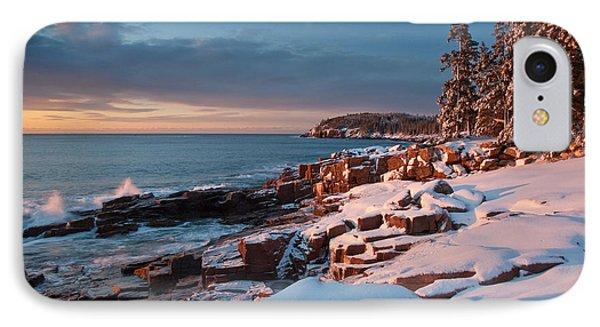 Acadian Winter IPhone Case