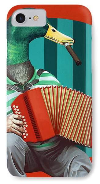 Accordion To This IPhone Case by Kelly Jade King
