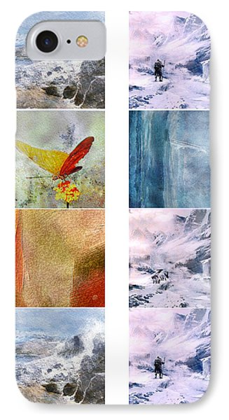 Aceo Artwork For Print IPhone Case by Jean Moore
