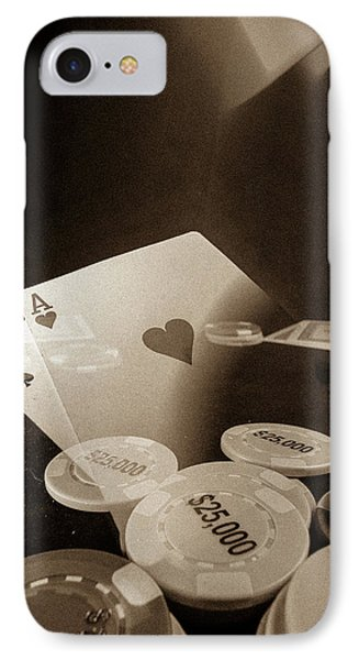 Aces Up IPhone Case by Mark Dunton