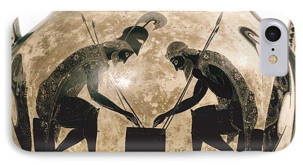 Achilles & Ajax, C540 B.c IPhone Case by Granger