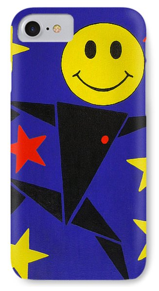 Acid Jazz IPhone Case by Oliver Johnston