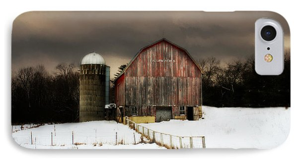 Acorn Acres IPhone Case by Julie Hamilton