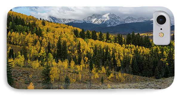 IPhone 7 Case featuring the photograph Acorn Creek Autumn by Aaron Spong