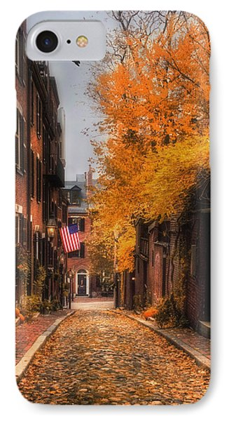 Acorn St. Phone Case by Joann Vitali