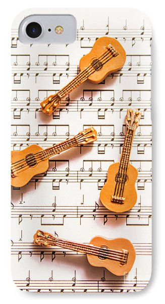 Acoustic Quartet IPhone Case by Jorgo Photography - Wall Art Gallery