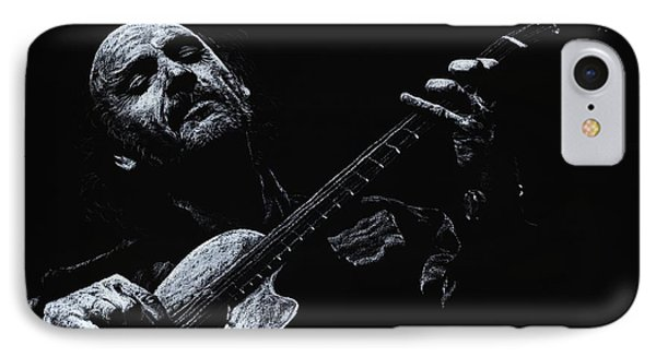 Acoustic Serenade Phone Case by Richard Young
