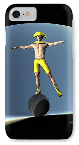 Acrobat Light Circus IPhone Case