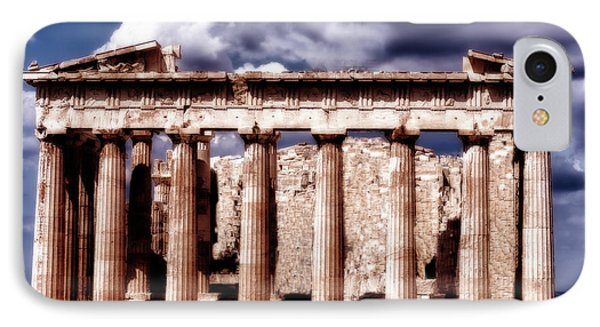 IPhone Case featuring the photograph Acropolis Of Greece by Linda Constant