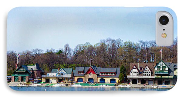 Across From Boathouse Row - Philadelphia Phone Case by Bill Cannon