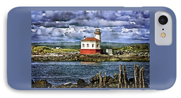 Across From The Coquille River Lighthouse IPhone Case by Thom Zehrfeld