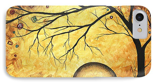 Across The Golden River By Madart Phone Case by Megan Duncanson